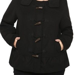 Torrid Toggle Hooded Button Coat New without tags